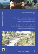 From the Early Preboreal to the Subboreal period   Current Mesolithic research in Europe