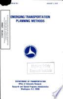 Seminar on Emerging Transportation Planning Methods  Held December 1976 in Daytona Beach  Florida  Proceedings Book