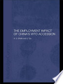 The Employment Impact of China s WTO Accession