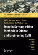 Domain Decomposition Methods in Science and Engineering XVIII [Pdf/ePub] eBook