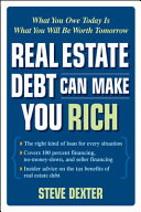 Real Estate Debt Can Make You Rich What You Owe Today Is What You Will Be Worth Tomorrow