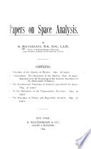 Principles of the Algebra of Physics Book