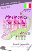 Mnemonics for Study  Italian edition