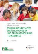 Forschungsinitiative Sprachdiagnostik und Sprachförderung - Ergebnisse