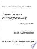 Decennial Index  Psychopharmacology Handbooks