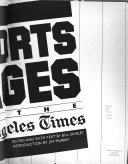 Sports Pages Of The Los Angeles Times Book PDF