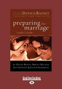 Preparing for Marriage Leader s Guide  Large Print 16pt  Book