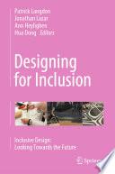 Designing for Inclusion Book