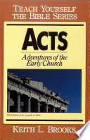 Acts Teach Yourself The Bible Series