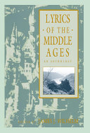 Pdf Lyrics of the Middle Ages