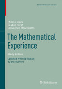 The Mathematical Experience  Study Edition