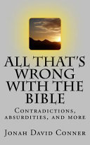 All That s Wrong With the Bible