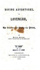 Roving Adventures, Or Lavengro