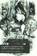 Longfellow s poetical works  Author s complete copyr  ed
