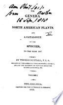 The Genera of North American Plants