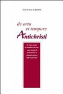 De ortu et tempore antichristi