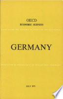Oecd Economic Surveys Germany 1975