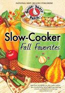 Slow-Cooker Fall Favorites Pdf/ePub eBook
