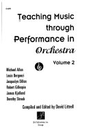 Teaching Music Through Performance in Orchestra Book