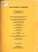 Illinois Drought of 1999 2000