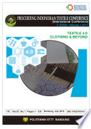 Proceeding Book Of Proceeding Indonesian Textile Conference Textile 4 0 Clothing And Beyond International Conference  Book PDF