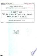 Technical Memorandum Beach Erosion Board