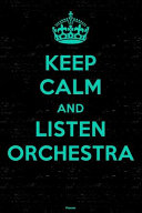 Keep Calm and Listen Orchestra Planner