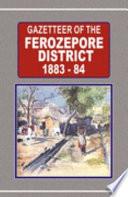 Gazetteer of the Ferozepore district, 1883-84