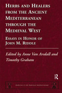 Pdf Herbs and Healers from the Ancient Mediterranean through the Medieval West Telecharger