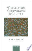 Wittgenstein  Comparisons and Context