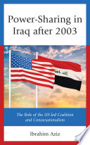 Power Sharing in Iraq After 2003 Book
