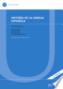 Historia de la lengua española (4.ª edición)