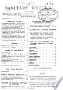 The Sanitary Record Book PDF