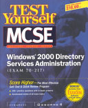 MCSE Windows 2000 Directory Services Administration Book