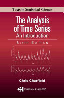 Cover of The Analysis of Time Series