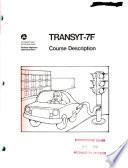 TRANSYT 7F Student Workbook