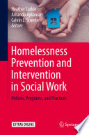 Homelessness Prevention and Intervention in Social Work Book
