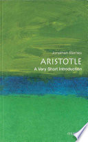 Aristotle  A Very Short Introduction
