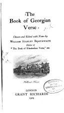 The Book of Georgian Verse