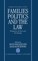 Families  Politics and the Law