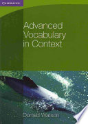 Books - Advanced Vocabulary In Context | ISBN 9780521140409