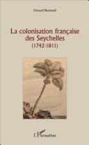 Pdf La colonisation française des Seychelles Telecharger