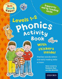 Oxford Reading Tree Read With Biff  Chip  and Kipper  Levels 1 2  Phonics Activity Book
