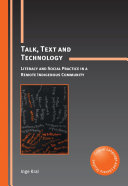 Talk  Text and Technology