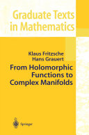 From Holomorphic Functions to Complex Manifolds [Pdf/ePub] eBook