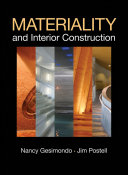 Materiality and Interior Construction Book