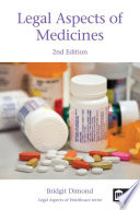 Legal Aspects Of Medicines 2nd Edition