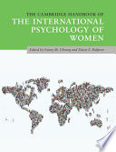 The Cambridge Handbook of the International Psychology of Women Book PDF