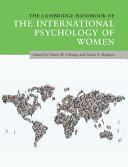 The Cambridge Handbook of the International Psychology of Women