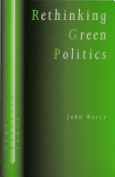 Rethinking Green Politics